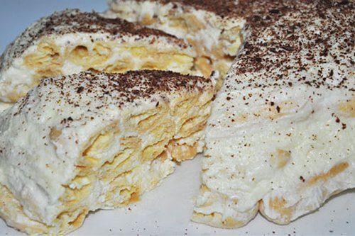 Торт «Дамские пальчики» в шоколаде