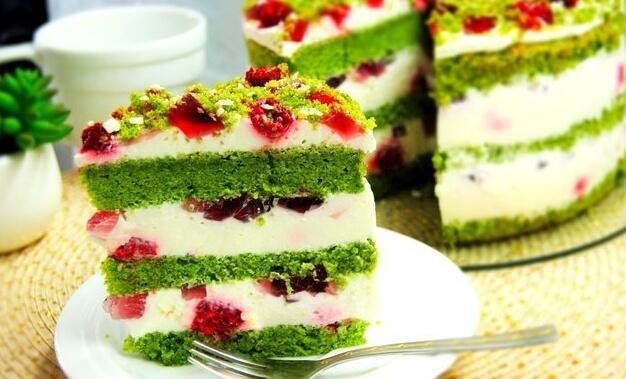 Торт «Изумрудный бархат» рецепт с фото