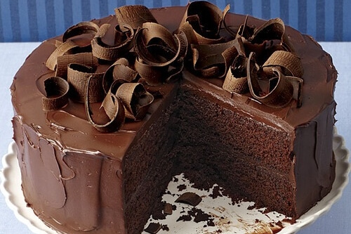 Торт «le chocolat» с темным шоколадом