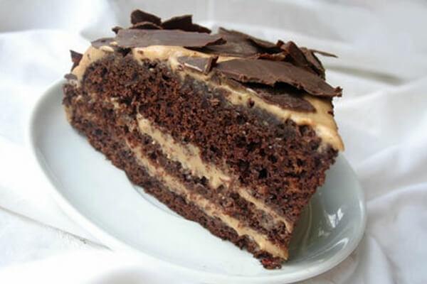 Торт «Мокко» с темным шоколадом: рецепт с фото