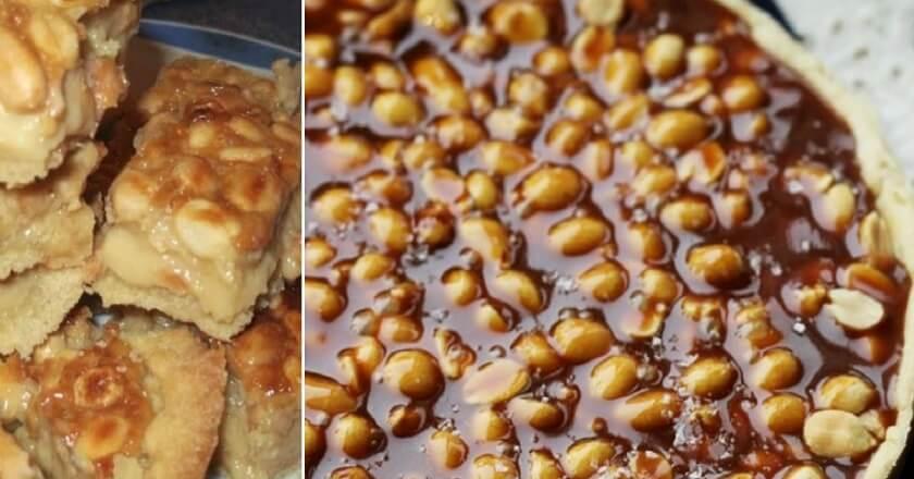 Торт с орехами и карамелью: пошаговый рецепт
