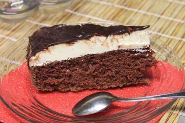 Торт «Эскимо» в глазури в домашних условиях