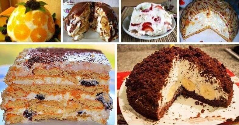 Торт без выпечки: 9 рецептов, которые вам понравятся!