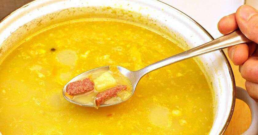 Рецепты приготовления самого вкусного горохового супа