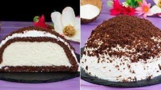 Турецкий торт «Кюмбет Паста» с кокосом: пошаговый рецепт