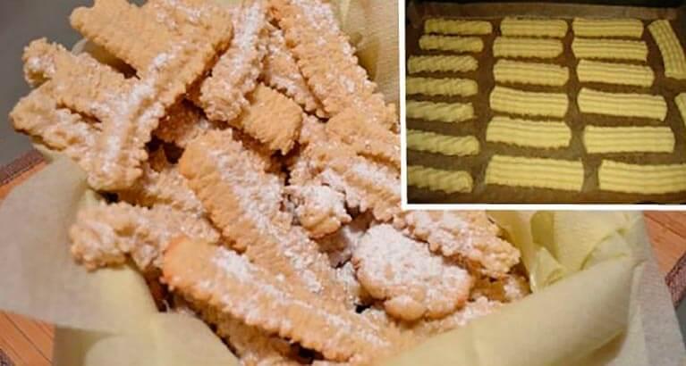 Вкусное печенье родом из детства