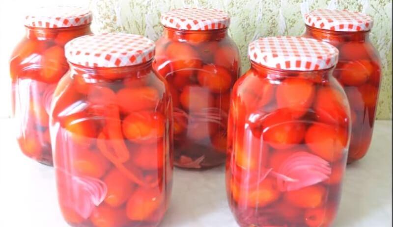 Вкусные помидоры в загадочном маринаде!