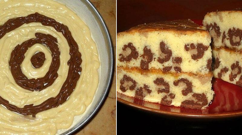 Вкусный и красивый кекс «Леопард»: пошаговый рецепт