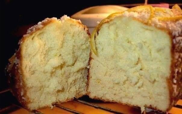 Вкусный и пышный кекс без муки!