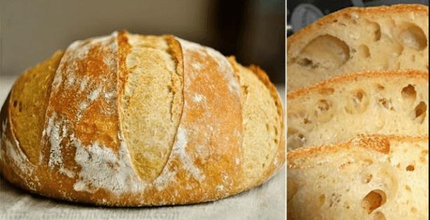 Вкусный рецепт домашнего хлеба в духовке