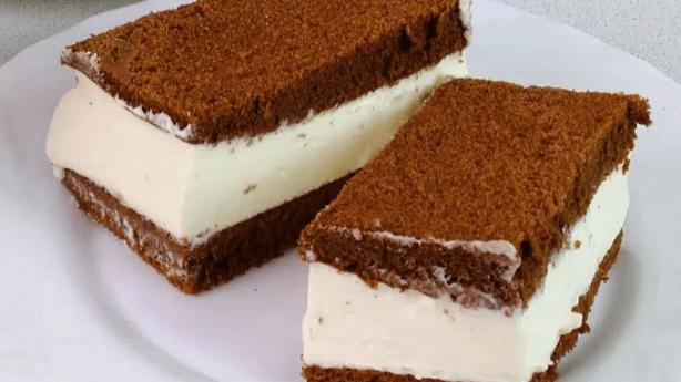 Воздушный торт Киндер Делис (kinder delice): пошаговый рецепт