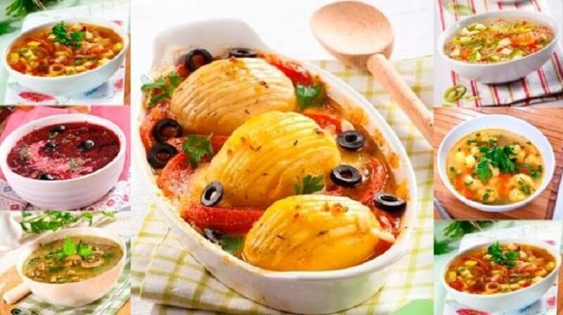 Рецепты вкусных постных блюд на Великий пост