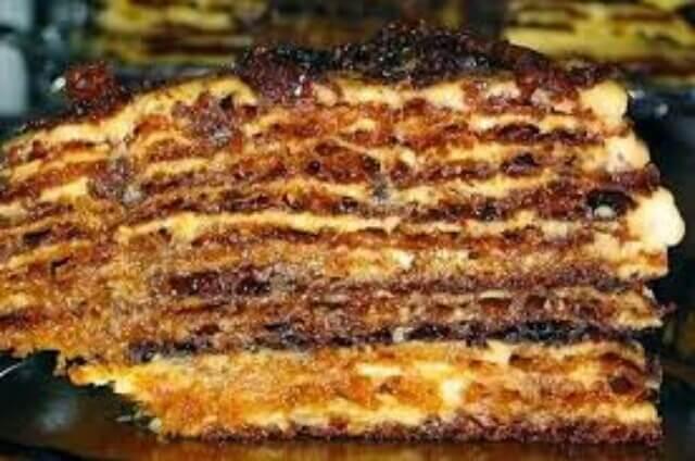 Заварной торт «Мадонна»: пошаговый рецепт приготовления