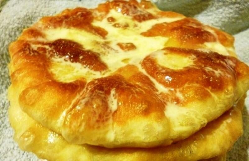 Жареные пышки на сковороде: пошаговый рецепт