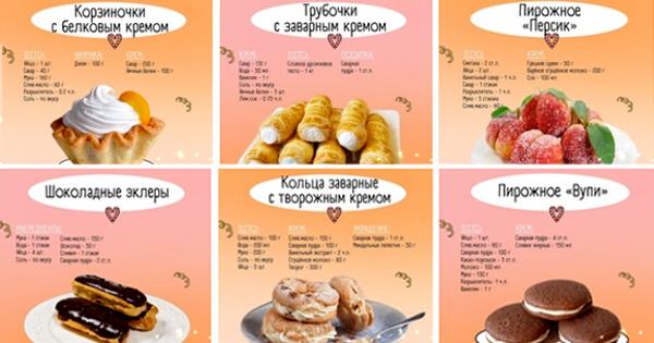 6 десертов, которые стоит приготовить!