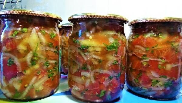 7 рецептов овощного рагу на зиму из баклажанов, моркови, кабачков