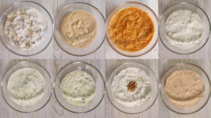 8 рецептов крутых соусов на сметане