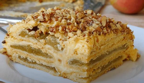 Баварский яблочный торт: пошаговый рецепт