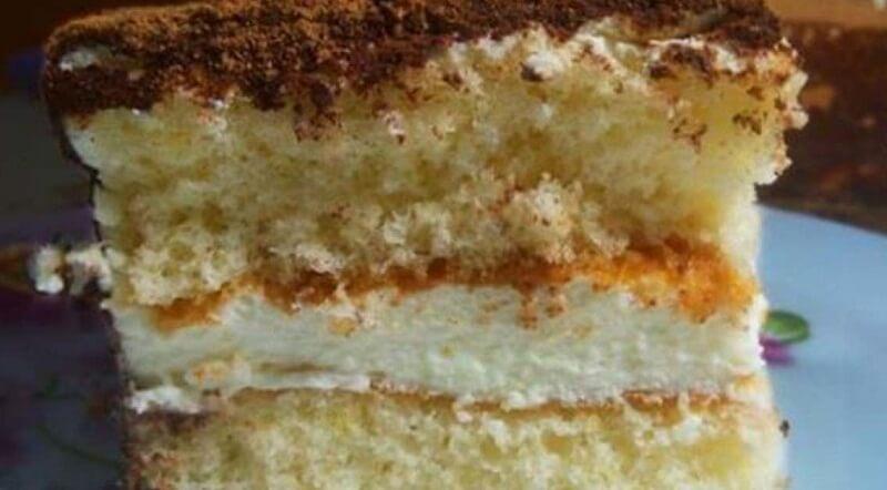 Бисквитный торт «Парсла»