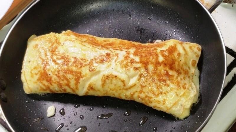 Бюджетный вариант приготовления сытного завтрака