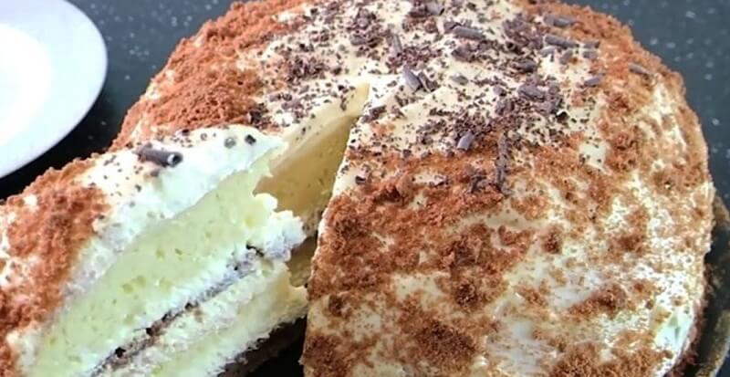 Простой  рецепт торта «Сметанник»