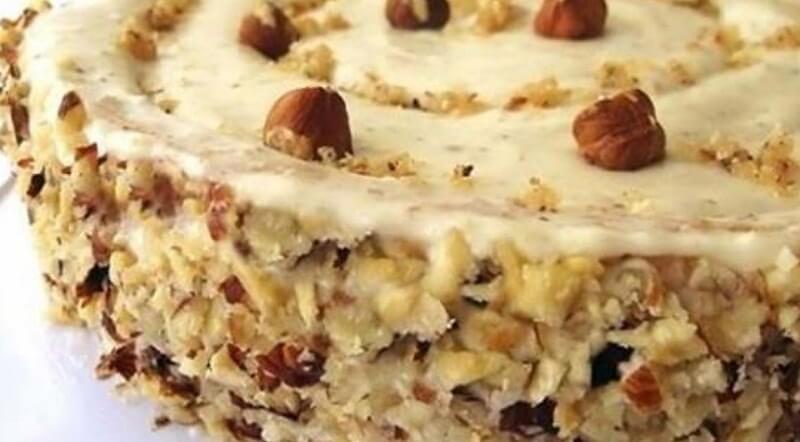 Как приготовить ореховый торт