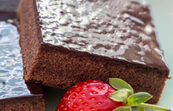 Божественный шоколадный кекс-пудинг