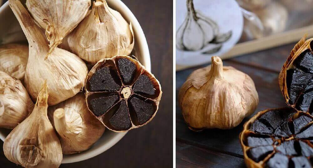 Черный чеснок: рецепты, применения, свойства