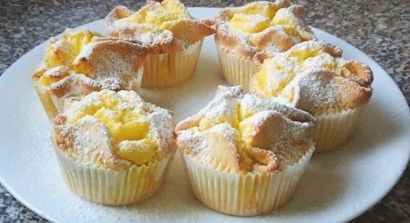 Чрезвычайно нежные итальянские пирожные из творога