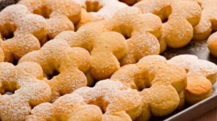 Домашнее медовое печенье без яиц