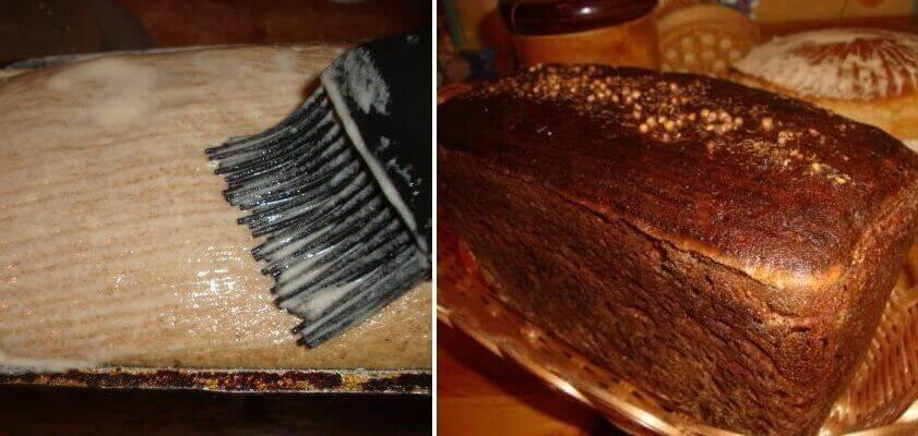 Домашний бородинский хлеб в духовке. Рецепт 1939-го года!