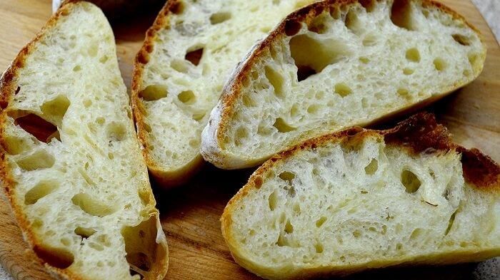 Домашний хлеб Чиабатта в духовке. Простой рецепт!