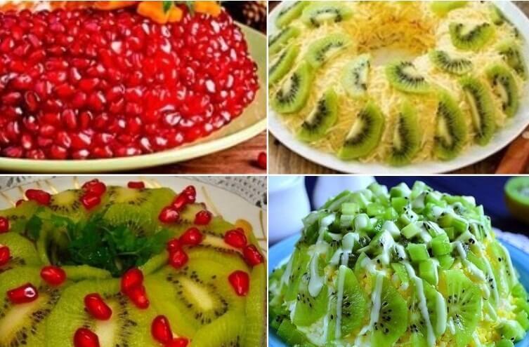 Драгоценности на праздничном столе: 3 шикарных салата