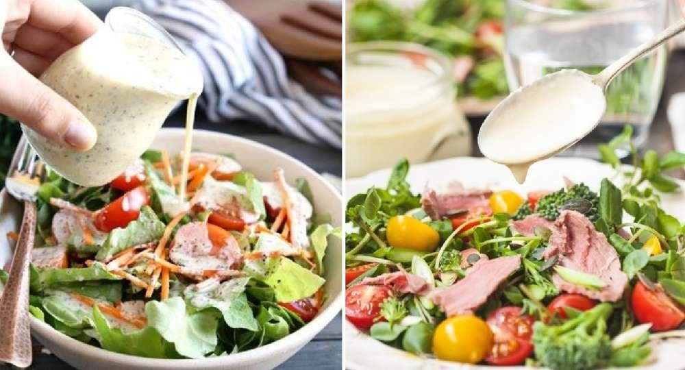 Дрессинг (заправка) для салата: лучшие рецепты!