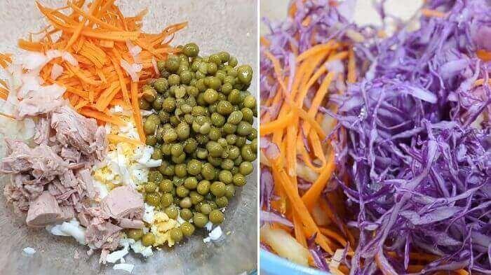 Экспресс салаты из моркови