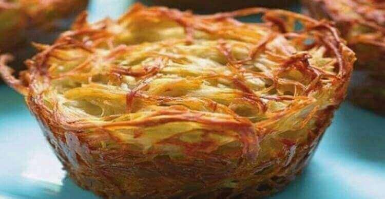 Еврейский «Кугель» из овощей