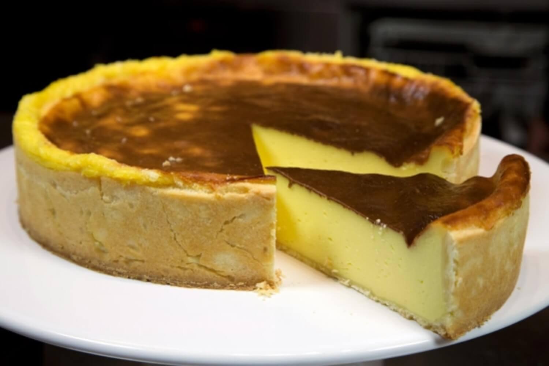 Французский Флан: пирог с заварным кремом
