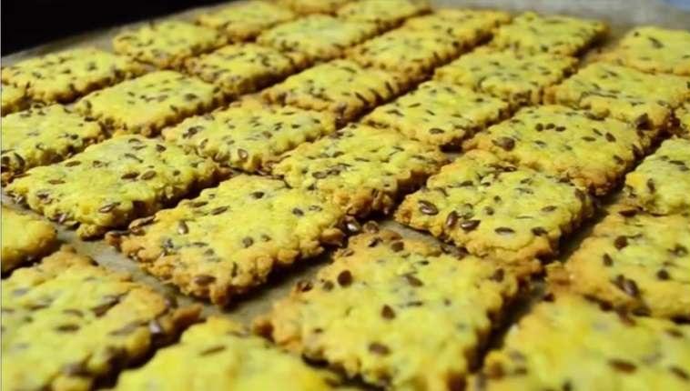 Галетное печенье со льном: рецепт пошагово