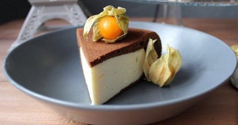Шоколадный пирог - ватрушка в мультиварке