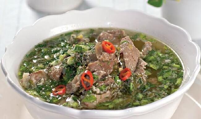 Греческий пасхальный суп Магирица (Μαγειρίτσα)