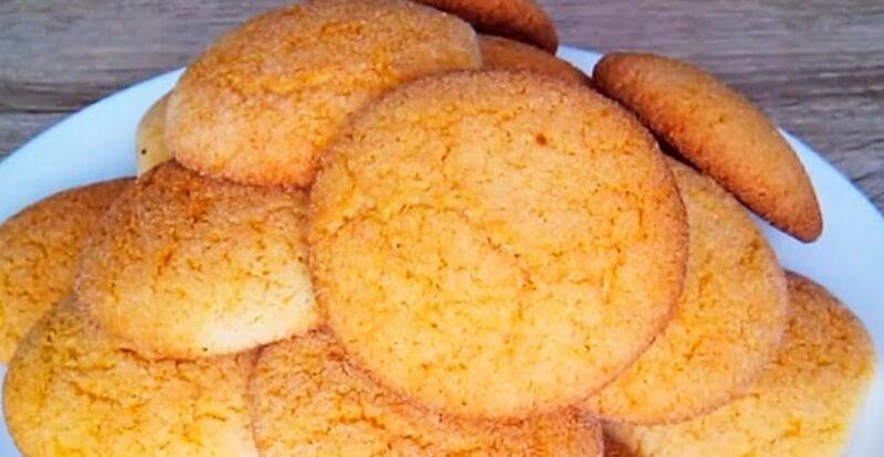 Рецепт печенья с манной крупой