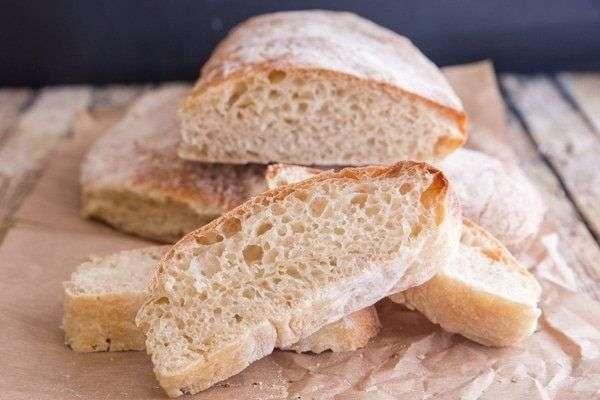 Итальянский хлеб Чиабатта без замеса: рецепт быстрого приготовления