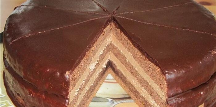 Изумительно вкусный шоколадный торт «Даниэлла»