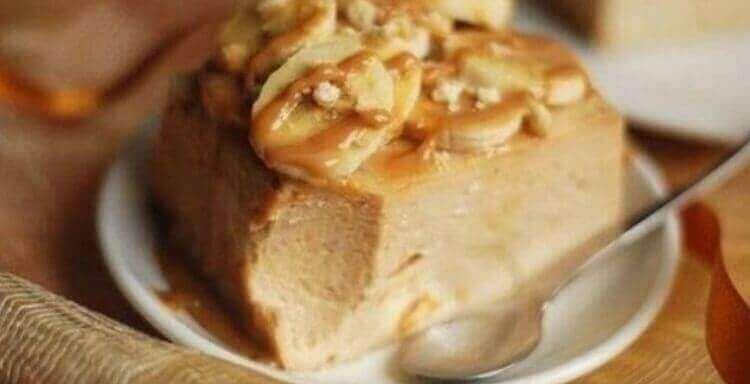 Изумительно вкусный творожно-банановый чизкейк