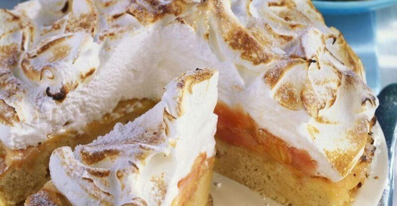 Яблочный пирог «Сугробы»