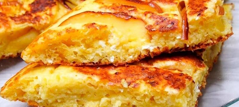 Как быстро приготовить на завтрак творожное блюдо