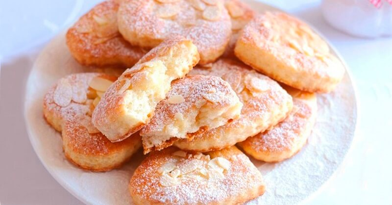Как испечь творожно-миндальное печенье