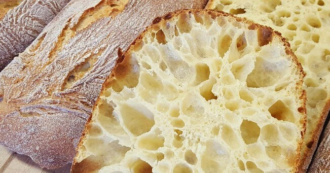 Как приготовить хлеб Чиабатта