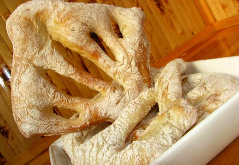 Как приготовить хлеб Фугасс