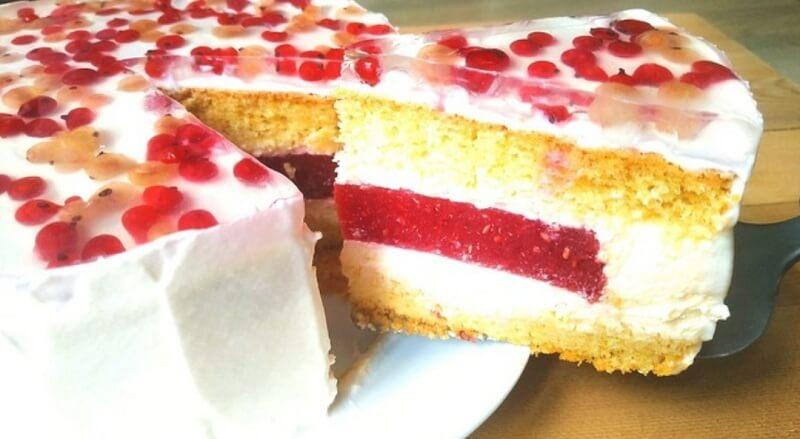 Как приготовить вкусный торт «Летний каприз»
